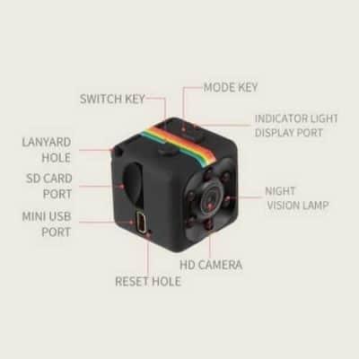 Mini Hidden Spy Camera with Built In DVR